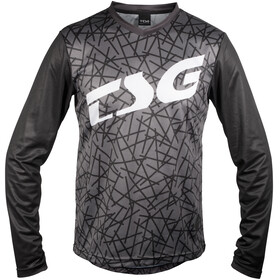 TSG Plain LS Jersey Men black